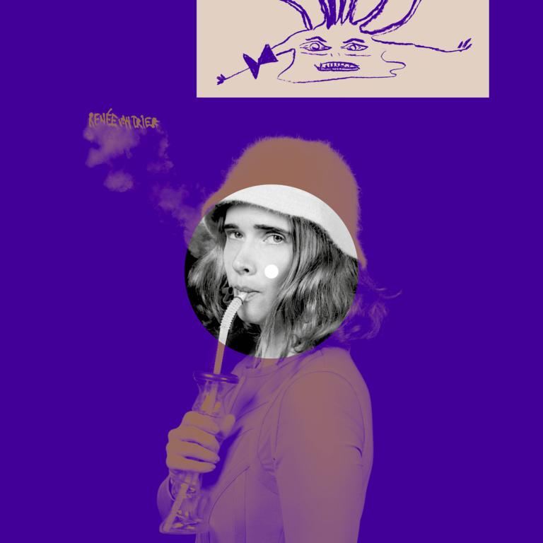 Renée Van Trier x CAF? Album cover