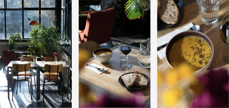 Photos du café de l'Arsenic et sa petite restauration